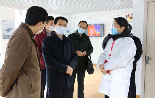 杭州市委常委、常务副市长戴建平一行莅临公司考察调研