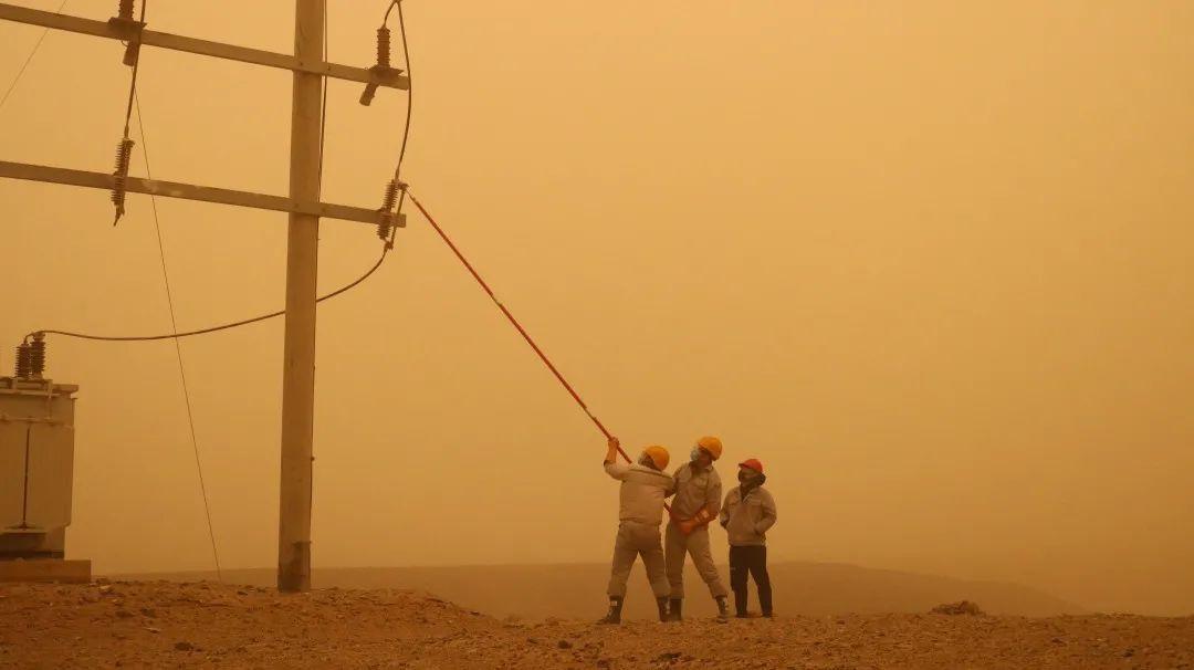 沙尘暴来袭,红外热像仪能做什么?